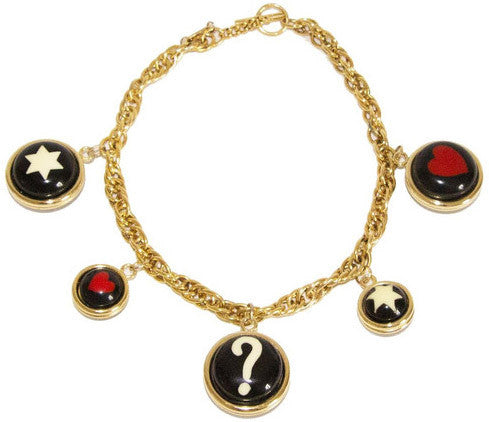Rare & Collectable Moschino Vintage Necklace 1990