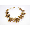 Oscar de la Renta Sculptural Coral Necklace 90s