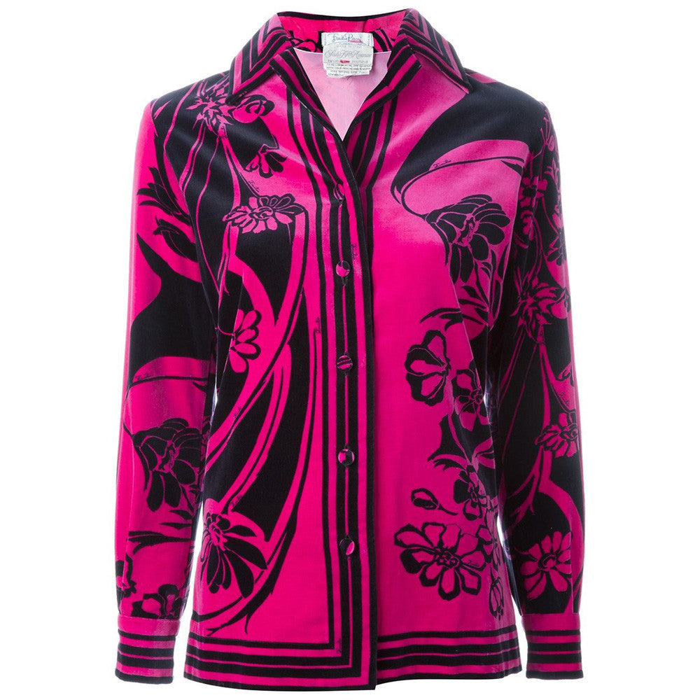 Emilio Pucci Vintage Flowers Jacket collector
