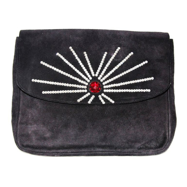 Gorgeous and a collector piece of Sonia Rykiel clutch 80s vintage collector