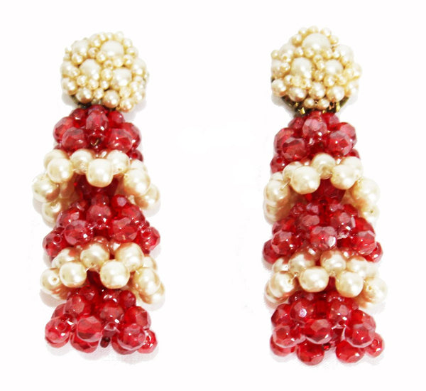 Exceptional Coppola e Toppo Earrings c.1960 - Katheleys for Unique Vintage Luxury
