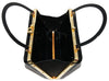 Elegant black plexi bag of the 50s