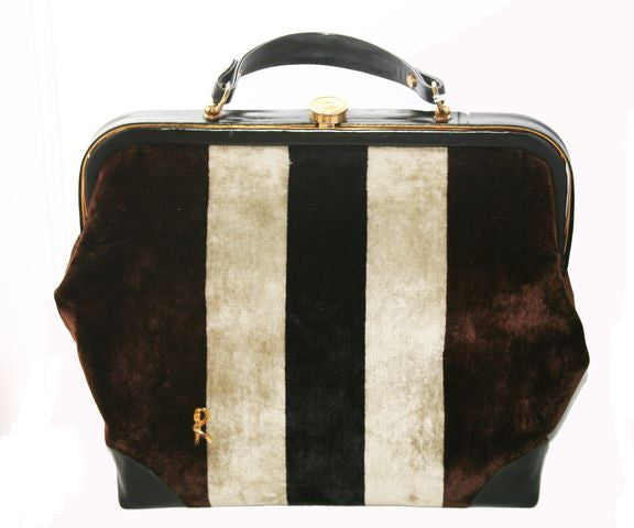 Exceptional Vintage Doctor Bag of Roberta di Camerino - Katheleys for Unique Vintage Luxury