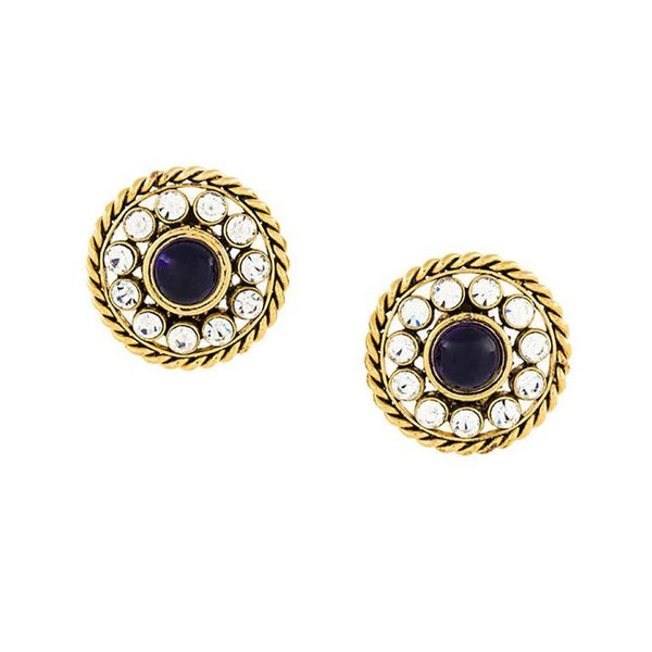 Gorgeous Chanel vintage gripoix earrings of the 80s