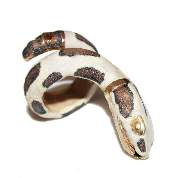 Exceptional CREART snake ring vintage collector