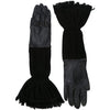 Hermès fringes vintage gloves of the 80s