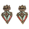 Ethnic vintage earrings of JPG late 80s - Katheleys for Unique Vintage Luxury