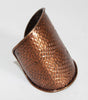 Premier Etage Paris vintage bronze scales cuff of the 80s