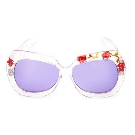 Unique Emilio Pucci 70s Flowers Sunglasses