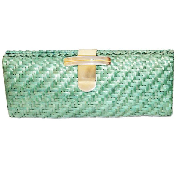 Great Rodo vintage rafia clutch/bag of the 80s