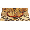 Glam & unique vintage python clutch of the 70s - Katheleys for Unique Vintage Luxury