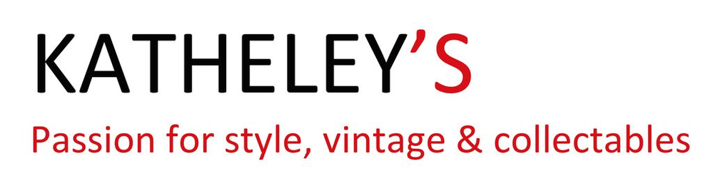 Katheleys Passion for style and vintage - shop unique vintage bags & jewels logo