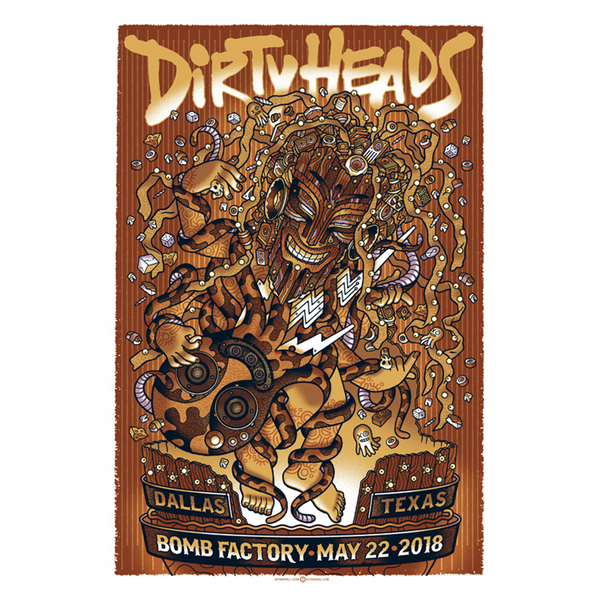 Dallas, TX - 5/22/18 Show Poster
