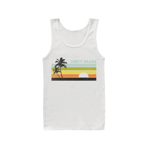 Retro Lines Tank - Dirty Heads