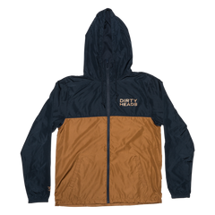 Octopus Windbreaker - Navy/Copper