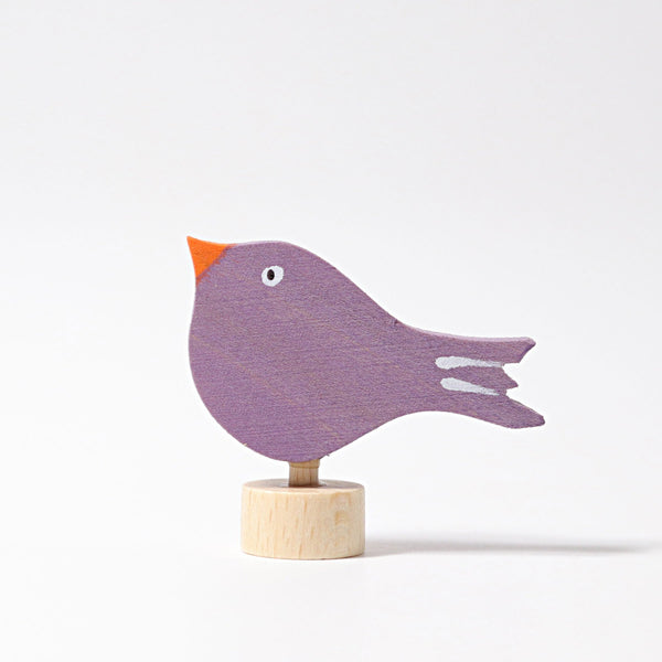 grimms decorative figure sitting bird