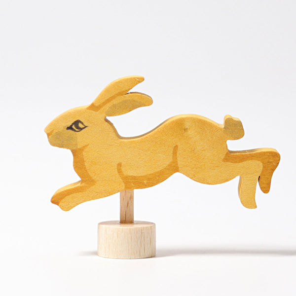 4233 Grimms Decorative Figure Jumping Rabbit
