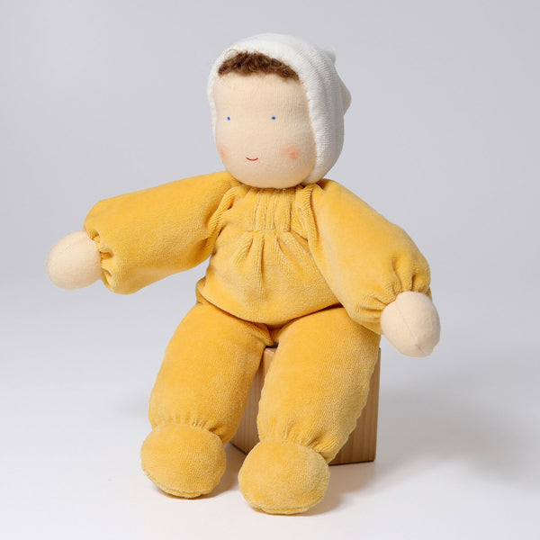 22550 Grimms Yellow Soft Doll 3