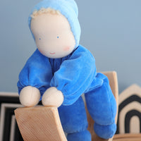 grimms soft doll blue