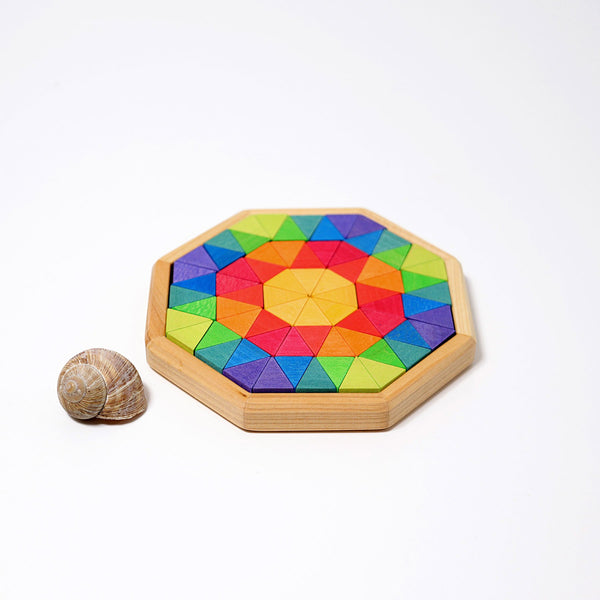 grimms creative puzzle for building octagon
