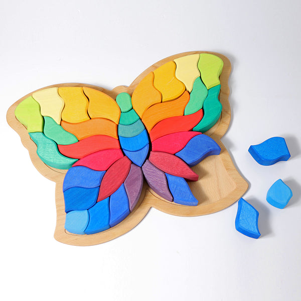 43681 Grimms Large Puzzle Butterfly