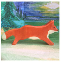 Holztiger Fox, running - Little Earth Farm
