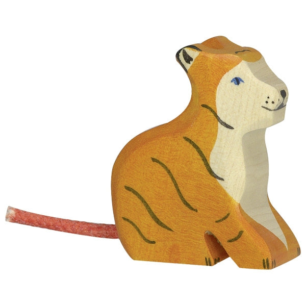 holztiger tiger small sitting