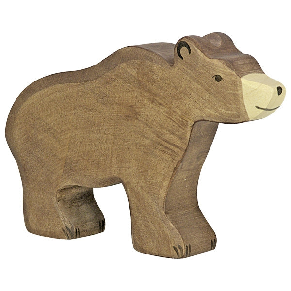 Holztiger Brown Bear - Little Earth Farm