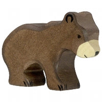 Holztiger Brown Bear, Small - Little Earth Farm
