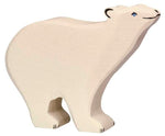 Holztiger Polar bear - Little Earth Farm