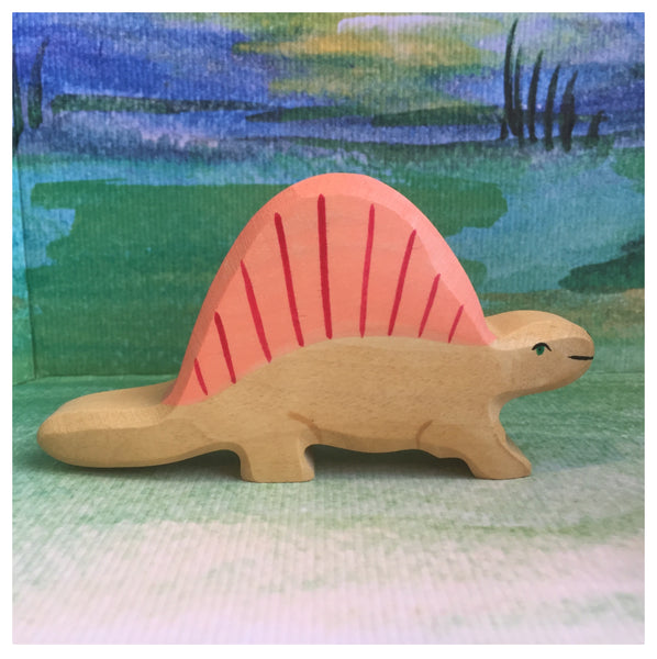 Holztiger Dimetrodon - Little Earth Farm