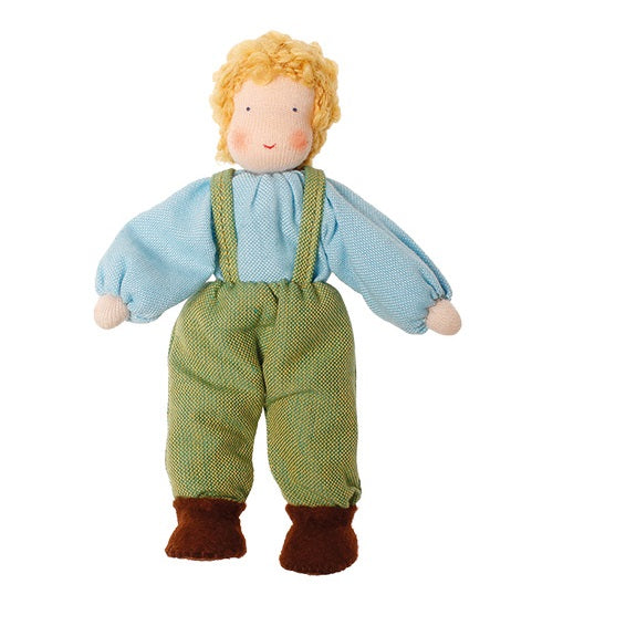 Grimms Dollhouse Doll Boy Blonde