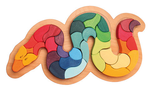 Grimms Puzzle Rainbow Snake