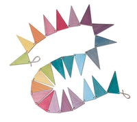 Grimms Pennant Banner, Pastel - Little Earth Farm