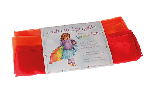 85026 Sarah's Silks Enchanted Playsilk Fire
