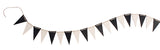 Grimms Pennant Banner, Monochrome - Little Earth Farm