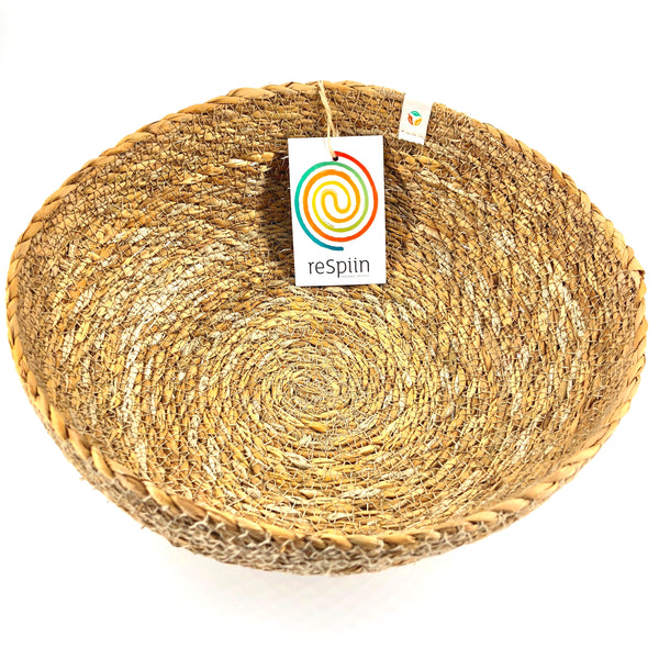 Respiin Jute Bowl - Large - Natural