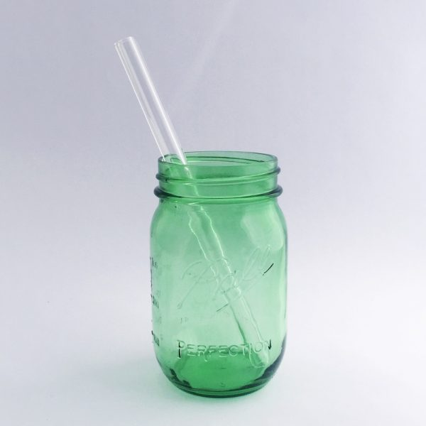 Strawesome Glass Straw - Smoothie Straight - Clear