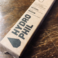 hydrophil sustainable and vegan adult toothbrush natural