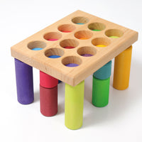 Grimms Stacking Game Small Rainbow Rollers