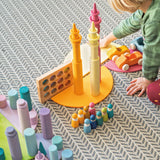 Grimms Stacking Game Small Pastel Rollers