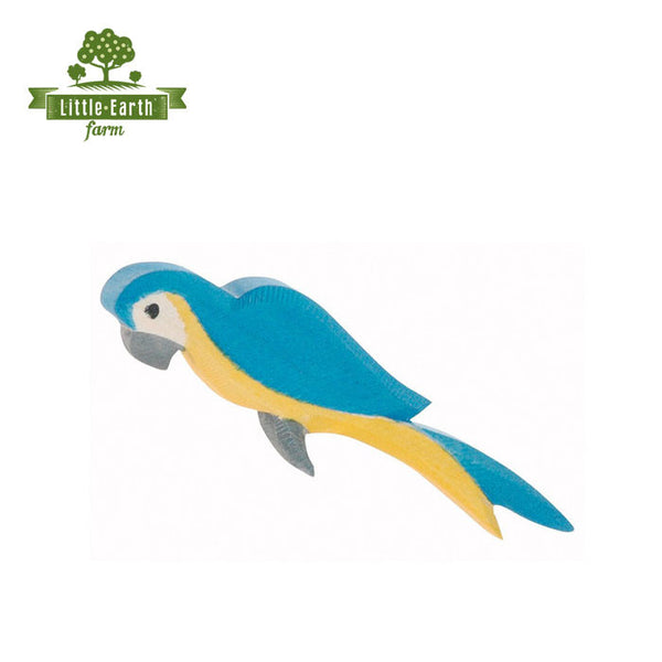 ostheimer parrot blue yellow