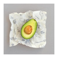 Abeego Reusable Beeswax Food Wrap - 6 'Small Flats' Pack