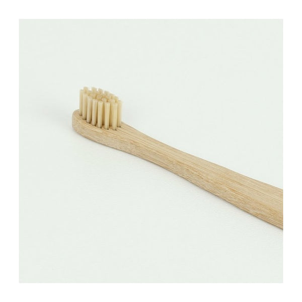curanatura bamboo junior toothbrush with bamboo bristles