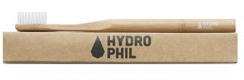 HYDROPHIL Sustainable and Vegan ADULT Toothbrush - NATURAL