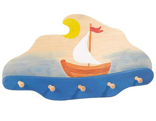 Ostheimer Coat Rack Sailing Boat