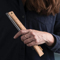 Bambu Cork Fabric Straw Sleeve