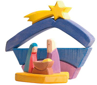 Ostheimer Rainbow Nativity Set - Little Earth Farm