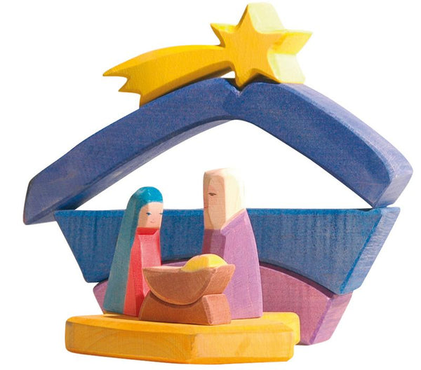 ostheimer rainbow nativity set