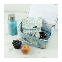 keep leaf insulated lunchbox with coating hearts